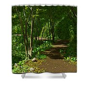 The Wooded Path... Shower Curtain