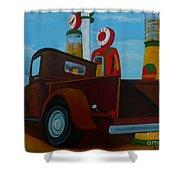The Work Truck Shower Curtain