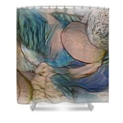 The World On My Shoulders Shower Curtain