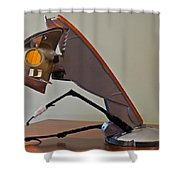 The Wounded Watcher Shower Curtain by Don Perino