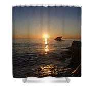 The Wreck Of The Atlantus - Cape May New Jersey Shower Curtain