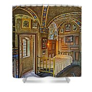 The Yellow Room At Fonthill Castle Shower Curtain
