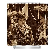 The Young Warriors - 2 Shower Curtain