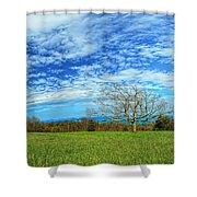The Zen Meadow Shower Curtain
