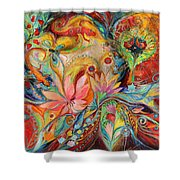 The Zodiac Signs Shower Curtain