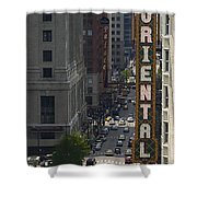 Theater District Shower Curtain