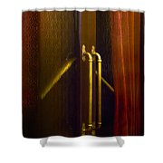 Theater Doors Shower Curtain