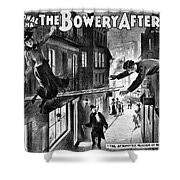 Theater Melodrama, C1899 Shower Curtain