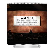Theater Night In New York Shower Curtain