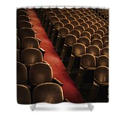 Theater Seats Shower Curtain