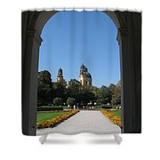 Theatiner Church Munich Shower Curtain