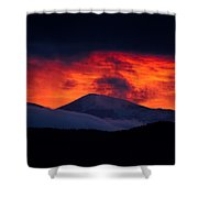 Thee Red Light District Shower Curtain