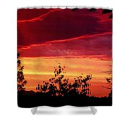 Thee Sunset Of Summer 2014 Shower Curtain