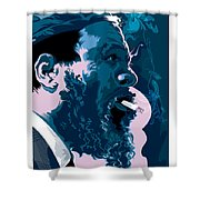 Thelonius Monk Shower Curtain