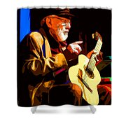 Theodore Bikel Shower Curtain