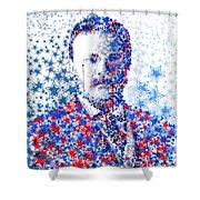 Theodore Roosevelt 2 Shower Curtain