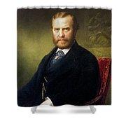 Theodore Roosevelt, Sr Shower Curtain