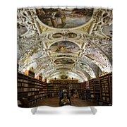 Theological Hall Strahov Monastery Shower Curtain