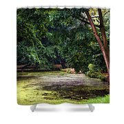 There Is Always A Hope. Park Of De Haar Castle Shower Curtain by Jenny Rainbow