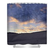 There Is Love Shower Curtain