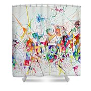 There Is Nothing Besides Him 1 Shower Curtain