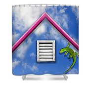 There Must Be Some Way Out Of Here Shower Curtain by Paul Wear