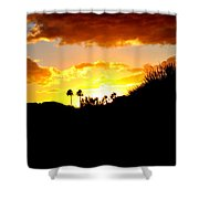 There's Gold In Them Thar Hills Shower Curtain