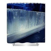 These Ice Glasses Are Ready Shower Curtain