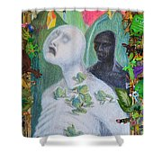 They Are The Standing Dead - Framed Tight Shower Curtain