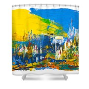 They Came Bearing Gifts Shower Curtain