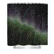 They Grow At Night Shower Curtain