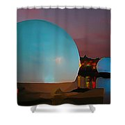 They Have Arrived Shower Curtain