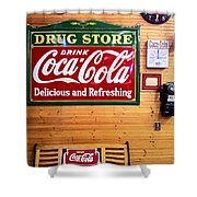Things Go Better With Coke Shower Curtain