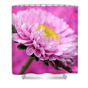 Think In Pink Shower Curtain