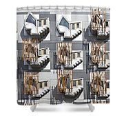 Thinking Pods Shower Curtain