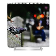 This City Belongs To Us Shower Curtain
