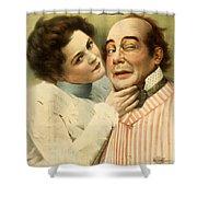 This Is A Cinch Circa 1899 Shower Curtain