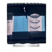 This Is A Place Where I Don't Feel Alone.. Shower Curtain