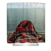 This Is The Life Shower Curtain