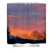 This Magic Hour Shower Curtain