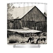 This Old Farm Shower Curtain