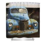 This Old Truck 13 Shower Curtain