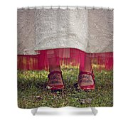 This Place This Time Shower Curtain