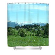 This Too Is Idaho Shower Curtain