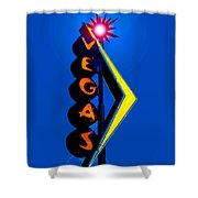 This Way To Vegas Shower Curtain