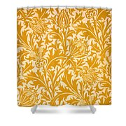 Thistle Wallpaper Design, Late 19th Shower Curtain