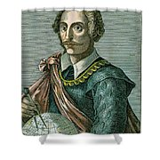 Thomas Cavendish (c1560-1592) Shower Curtain