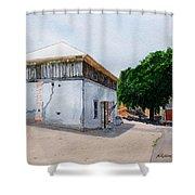 Thomas Coyne Winery Shower Curtain