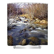 Thomas Creek Shower Curtain