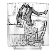 Thomas Hart Benton (1782-1858) Shower Curtain